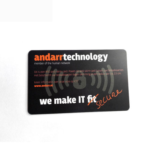 RFID Blocking Card for Credit Bank Card Protection