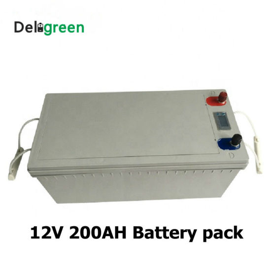 Brandnew Deep Cycle 12V 200ah LiFePO4 Battery Pack with 3 Years Warranty