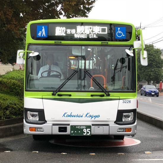 Two Colors Bus Destination Sign (16 Pixels high)