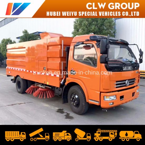Cement Factory Mining Area Choose 8ton High Pressure Fan Vacuum Dust Suction Truck