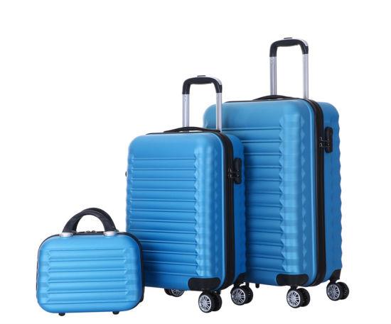 China Luggage Factory, 3PCS Set ABS Luggage, High Quality Travel Suitcase (XHA159)