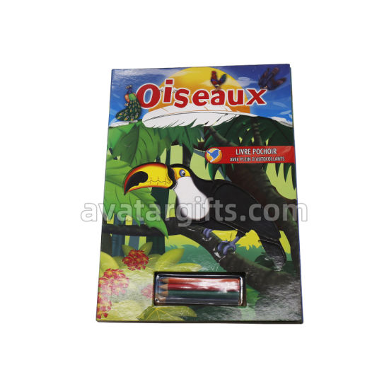 Factory Custom Hardcover Kids Printing Service Full Color Professional Book Printing