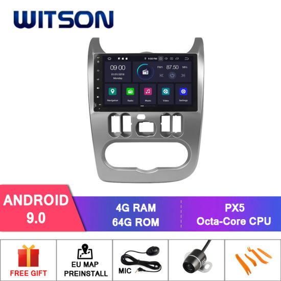 China Witson Quad-Core Android 9 0 Car DVD GPS for Renault