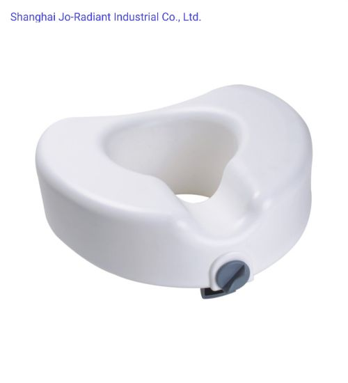 FDA Ce Bathroom Safety Elevated Plastic Toilet Seat for Disabled