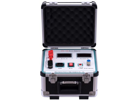 China Manufacturer Hthl 100A Automatic Digital Portable Micro Ohm Meter Loop Resistance Contact Resistance Circuit Breaker Tester for High Voltage Switch