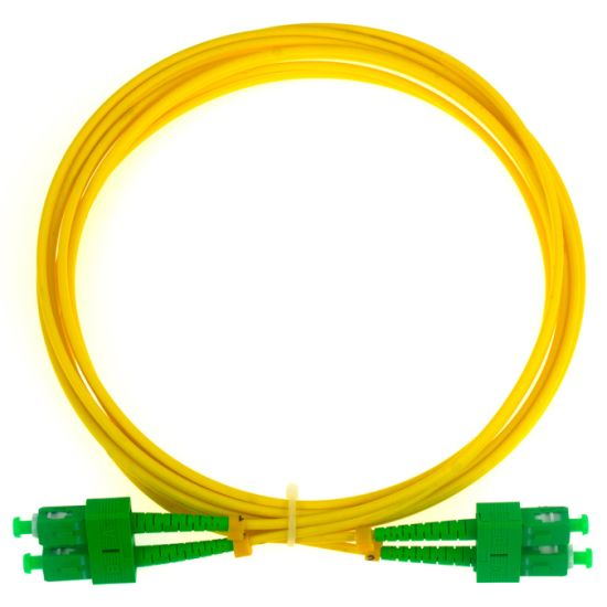 Sc/APC Duplex 9/125um Singlemode Communication Cable pictures & photos