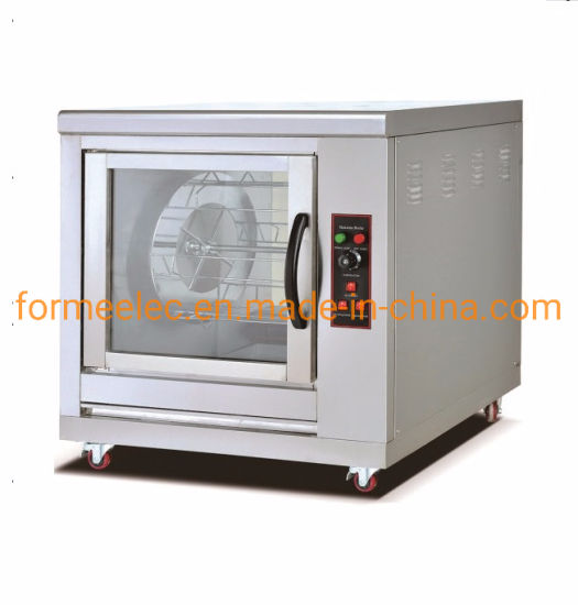 Electric Oven Single Layer 9.3kw Electric Chicken Rotisserie pictures & photos