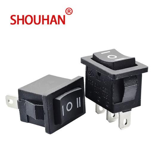 Hot Sale T125 Rocker Switch Kcd11 3 Pins Mini Rocker Switch
