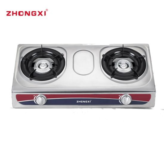 Stainless Steel Table Top Gas Stove [Jz-RS220]