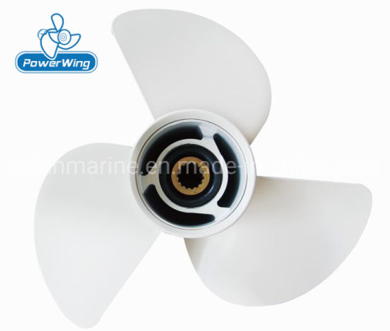 Powerwing Aluminum Boat Propeller for YAMAHA Outboard Motor 50-130HP