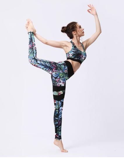 Custom Private Label Fitness Clothing Sexy Women Elastic Band Yoga Pants Scrunch Butt Leggings