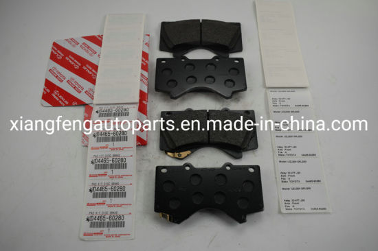 Wholesale Auto Brake Pads 04465-60280 for Toyota Landcruiser 5700 Grj200 pictures & photos