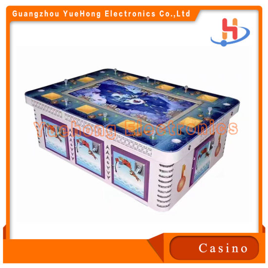 2021 Controllable Difficulty High Tech Lottery Game Fishing Machines