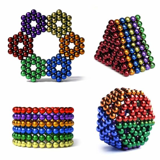 216Pcs 5mm Mini Magic Magnets Ball Neodymium Sphere Puzzle Cube Stress Relief