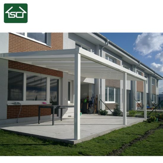 China Balcony Waterproof Roof Aluminum Frame Terrace Cover China Terrace Cover Pergola
