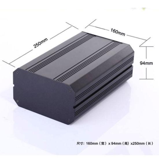 Black Anodizing 160*94mm Aluminum Electronic Enclosure /Case