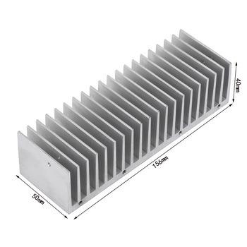 Custom LED Heatsink Aluminum Power Amplifier Heat Sink