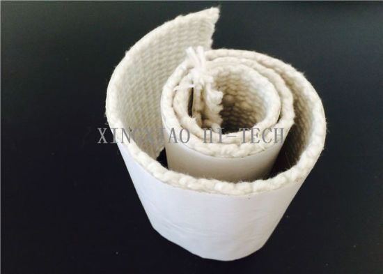 1260 Centigrade Ceramic Fiber Adhesive Tape 1.5-5.0mm Thick Heat Insulation