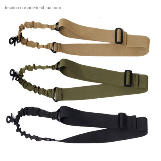 3 Point Airsoft Hunting Belt Tactical Military Elastic Gear Sling Strap Durable