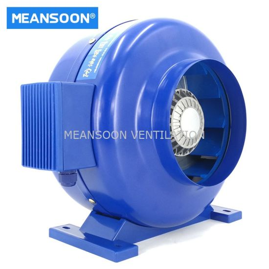 160 Oil Smoke Resistant Duct Inline Fans for Kitchen