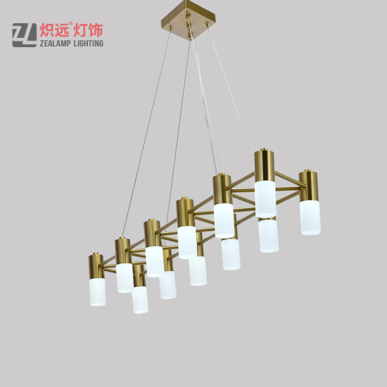 Extravagant Decorative Custom Made Stainless Steel Lighting Chandelier for Hotel