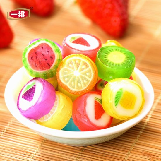 Confectionery New Product Individually Wrapped Mini Bonbons Chewy Hard Candy