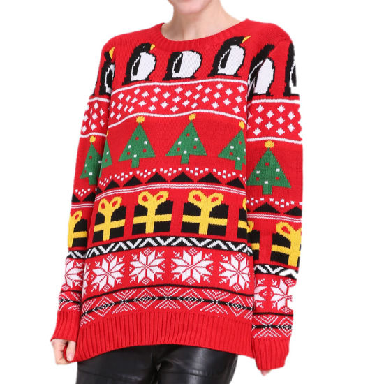 Factory Made Anti-Shrink Competitive Price Hot Sale Ugly Christmas Sweater
