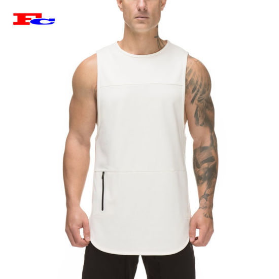 Wholesale Gym Fitness Mesh Utility Muscle Men Tank Tops