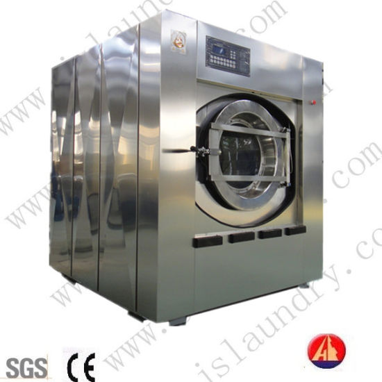 Professional Laundry Washer Extractor Manufacturing Hotel Used Laundry Washer Extractor 50kg pictures & photos