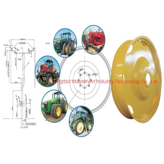 W8X28 Narrow Corp Agricultural Wheels for North America