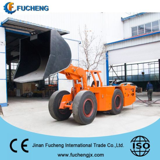 China customized electric underground mining wheel loader with SAUER pump