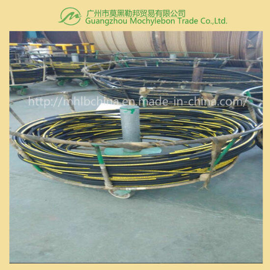 Steel Wire Braided Reinforced Rubber Covered Hydraulic Hose (SAE100 R1-3/4) pictures & photos