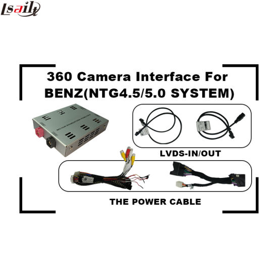 Car Reversing Camera 360 Interface for Mercedes-Benz C/B/a/E/Glc/Cla/Gle Ntg5.0 pictures & photos