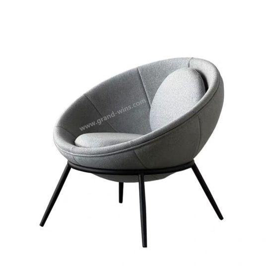 Incredible Modern Designer Chair Round Shape Fabric Velvet Living Room Ncnpc Chair Design For Home Ncnpcorg