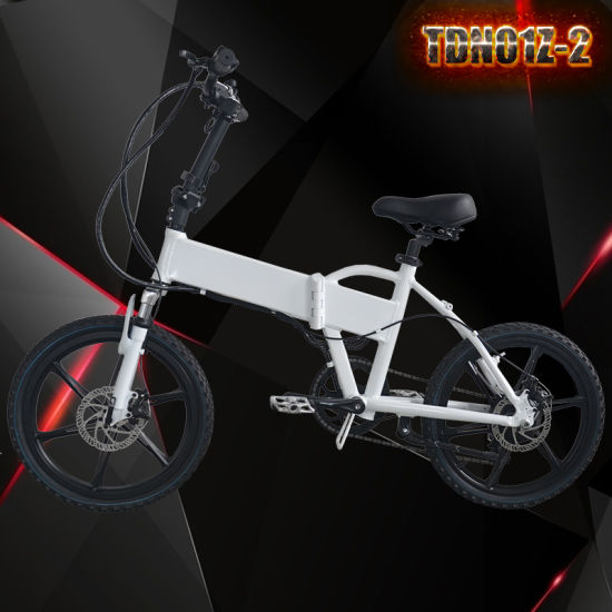 "Grankee Electric Bicycle with 250-500W 36-48V Battery 20"" Foldable En15194 pictures & photos"
