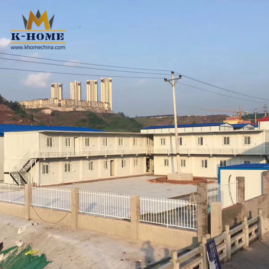 Construction Site Prefab Container Apartment Dormitory