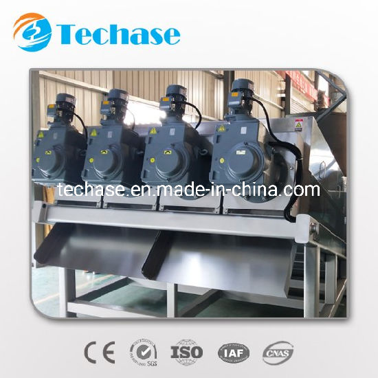 Techase Safety and Sanitary Sludge Dewatering Industrial Centrifuge Technologies