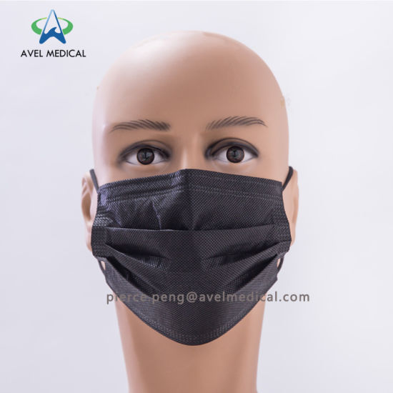 Nonwoven Disposable Mask High Carbon Medical Filter Face Quality