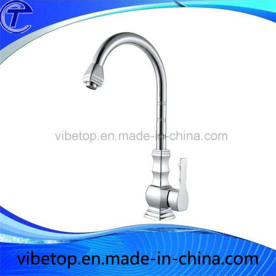 China Wholesale Stainless Steel Single Handle Kitchen Sink Faucet ...
