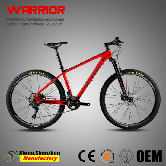 Slx M7000 22/33speed Air Suspension Carbon Fiber Mountain Bike 27.5 pictures & photos