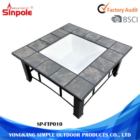 China Unqiue Wood Bbq Grill Fire Pit Garden Table China Wood Fire