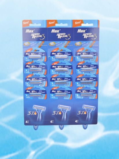 Hot Sellingtriple Blade Disposable Shaving Razor pictures & photos