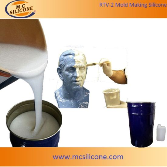 RTV2 Silicone Rubber for Sculpture Mold Making pictures & photos