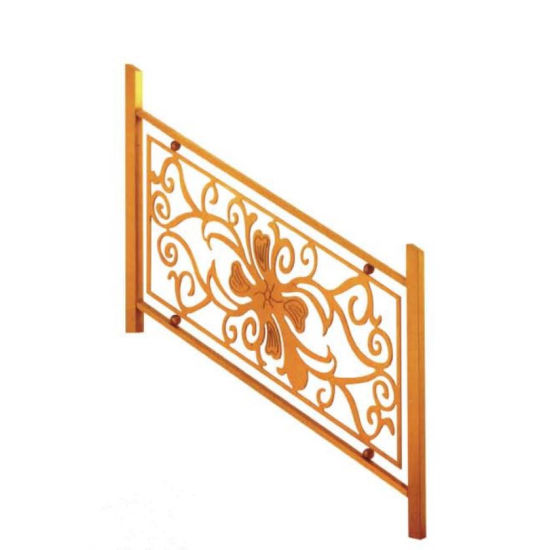 European Style Aluminum Alloy Railing Hotel Villa Staircase Railing pictures & photos