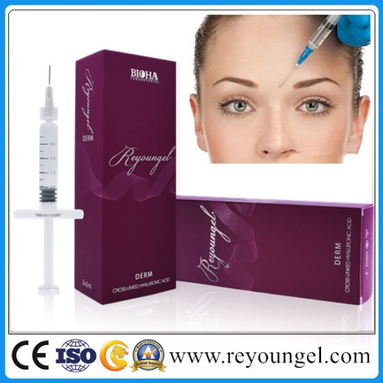 Reyoungel Sodium Hyaluronate Acid Aesthetics Gel Dermal Filler Injection pictures & photos