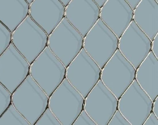 China High Strength Stainless Steel Wire Mesh/Wire Rope Mesh Net ...