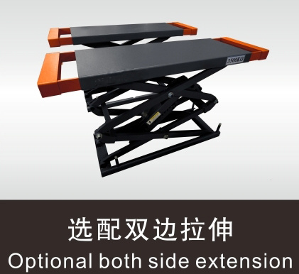 Ce Approved Auto Repair Machinery Scissor Car Lift pictures & photos