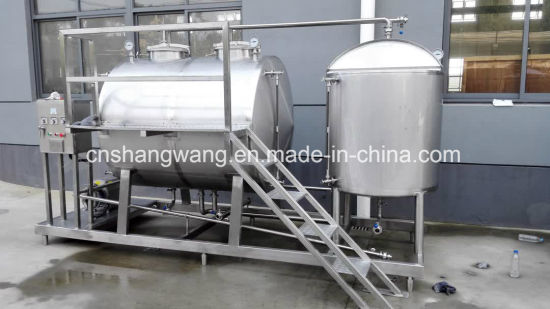 Stainless Steel CIP Machine for Beverage Production pictures & photos