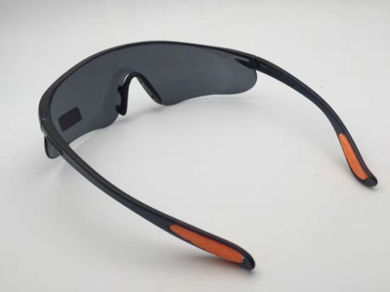 New Style UV400 Dark Lens Safety Glass pictures & photos