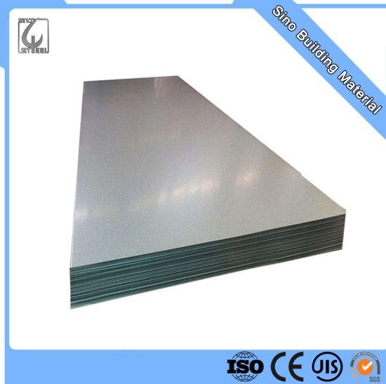 Abundant Stock High Quality Galvanized Zinc Coated Steel Sheet
